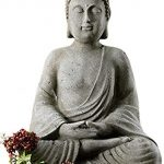 KINDWER Serene Meditating Buddha Statue