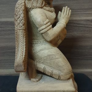 Hand Made Wooden Garuddha Statue